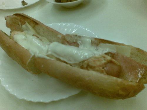 Hotdog+tortilla
