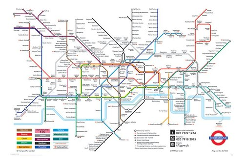 Londonundergrouindmap